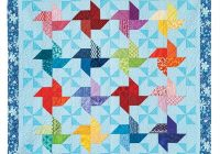 double pinwheel quilt pattern Modern Double Pinwheel Quilt Pattern Inspirations