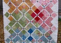 doubly charming charm pack quilt tutorial sewn up Interesting Charm Squares Quilt Patterns