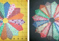 dresden plate quilt block pattern Cozy Dresden Plate Quilt Block Pattern