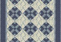 easy 3 color quilt patterns got blues monochromatic Elegant Three Color Quilt Patterns Inspirations