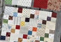 easy but striking quilt pattern just a solid and a 4 patch Easy Four Patch Quilt Pattern