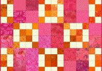 easy double 4 patch quilt block pattern Elegant Double Four Patch Quilt Pattern Gallery