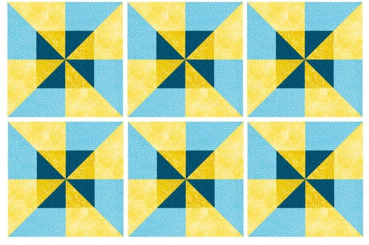 Permalink to Modern Double Pinwheel Quilt Pattern Inspirations