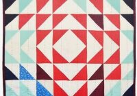 easy half square triangles tutorial video suzy quilts Cozy Half Square Triangle Quilt Pattern