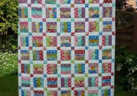 easy jelly roll quilt pattern 6 sizes bluprint Stylish Easy King Size Quilt Patterns Gallery