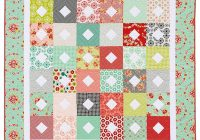 easy layer cake quilts simple quilts that start with 10 squares Stylish Layer Cake Quilts Patterns