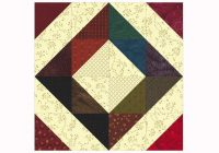 easy patchwork scrap quilt block pattern Modern Patchwork Quilt Blocks Patterns Inspirations