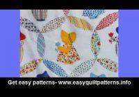 easy quick quilts modern sunbonnet sue quilt pattern youtube Unique Sunbonnet Sue Quilt Block Pattern