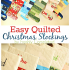 Modern Quilted Stocking Patterns Gallery