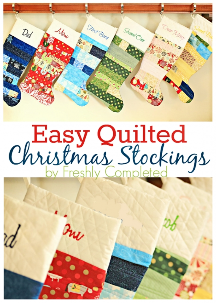 Permalink to Modern Quilted Stocking Patterns Gallery