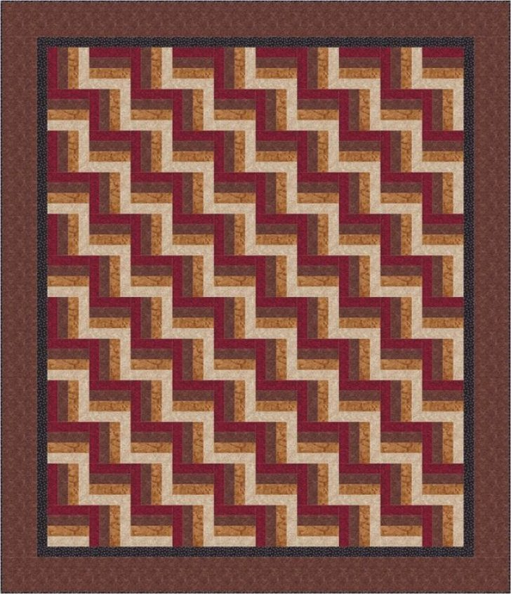 Permalink to Stylish Easy Rail Fence Quilt Pattern Gallery