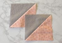 Elegant 16 half square triangle quilt patterns create with claudia 9 Beautiful Triangle Quilt Blocks Inspirations