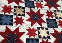 Elegant a beautiful quilt my gramma made for our etsy store jnkd 10   Patriotic Quilt Fabric Inspiration Gallery