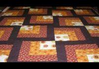 Elegant beginner quilt blocks easy log cabin quilt youtube 9   Easy Log Cabin Quilt Pattern