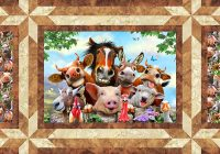 Elegant free pattern farm selfies equilter blogequilter blog Unique Farm Animal Quilt Patterns Inspirations