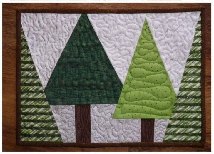 Permalink to 9 Unique Quilted Christmas Placemat Patterns Free