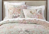 Elegant harlowe patchwork cotton quilt shams Modern Pottery Barn Quilts Gallery
