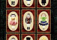 Elegant nutcracker finale applique quilt pattern from stitch em up 10 Interesting Nutcracker Quilt Pattern Inspirations