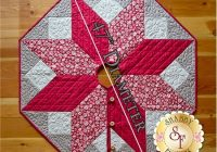 Elegant scandi christmas tree skirt pattern 11 Elegant Tree Skirt Quilt Patterns Inspirations