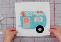 Elegant this adorable camper may be the easiest block you ever make 10   Missouri Quilt Block Patterns Gallery