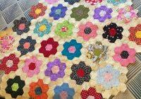 Elegant threading my way grandmothers flower garden quilt its 9 Unique Flower Garden Quilt Pattern Inspirations