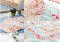 Elegant vintage floral custom quilt loganberry handmade 11 Interesting Vintage Quilt Fabric Gallery