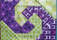 elven garden quilts snail trail block tutorial Cool Snail Trail Quilt Pattern Inspirations