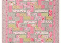 exclusively annies quilt designs pink lemonade quilt pattern Elegant Pink Lemonade Quilt Pattern