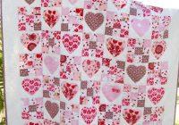 fairy hearts quilt pattern at kate conklin designs nine Modern Heart Applique Quilt Patterns