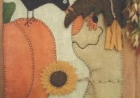 fall friendships felted wool applique quilt pattern caths pennies designs Modern Felted Wool Quilt Patterns Gallery
