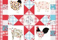 farm fresh panel quilt pattern Cozy Panel Quilt Patterns