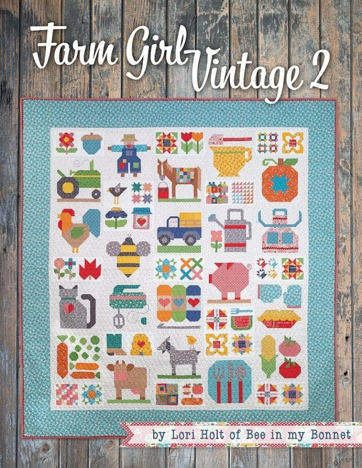 Permalink to Modern Farm Girl Vintage Quilt