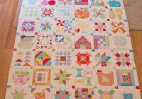 farm girl vintage quilt pattern lori holt sampler Modern Farm Girl Vintage Quilt