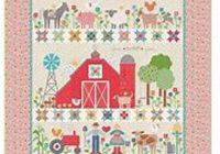 farm sweet farm quilt kit reservation featuring farm girl vintage lori holt Modern Farm Girl Vintage Quilt