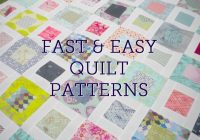 fast and easy quilt patterns right here on bluprint Elegant Quilts For Beginners Quilt Patterns