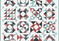 feed company half square triangle quilt hummingbird thread Cozy Half Square Triangle Quilt Designs