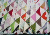 filequilt with triangle pattern wikimedia commons Cool Quilts With Triangles
