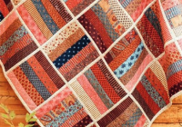 finish this easy quilt quickly with quilt as you go Modern Easy Quilt As You Go Patterns Gallery