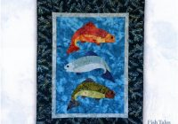 fish tales 2 new pine needles fabric kit Interesting New Fish Fabric For Quilting