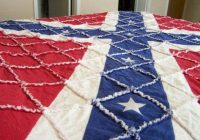 flag quilt quilts flag quilt rag quilt applique quilt Elegant Confederate Flag Quilt Patterns