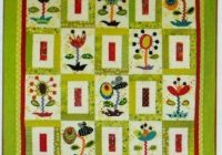 flower power applique pieced and embellished quilt pattern sue spargo Modern Flower Power Quilt Pattern Gallery