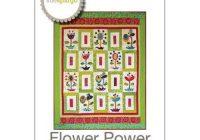 flower power quilt pattern sue spargo Modern Flower Power Quilt Pattern Gallery