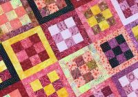 framed nine patch quilt block tutorial Unique Nine Patch Quilt Patterns Inspirations