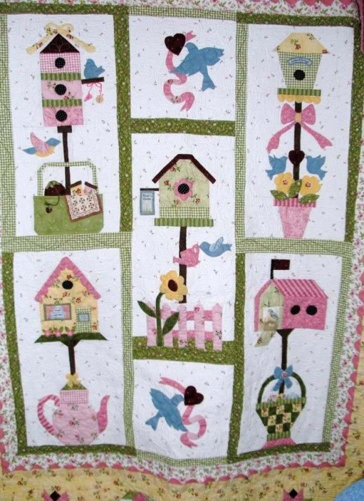 Permalink to Elegant Birdhouse Quilt Patterns Gallery