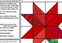 free easy christmas poinsettia block pdf meadowlyon designs 11 Stylish Poinsettia Quilt Pattern Inspirations