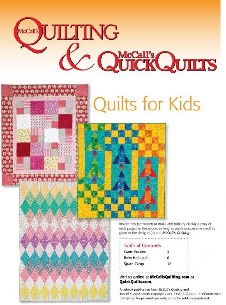 Permalink to Interesting Mccalls Quilting Patterns Free