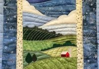 free landscape quilt patterns paper pieced quilts Cool Landscape Quilting Patterns Gallery