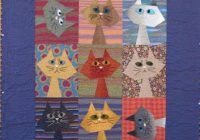 free pattern day cat and dog quilts cat quilts cat Cool Cat Quilts Patterns