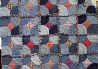 free pattern day denim quilts denim rag quilt patterns Stylish Denim Patchwork Quilt Patterns Inspirations