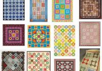 free pattern day shoo fly and churn dash quilts quilt Unique Names Of Amish Quilt Patterns Inspirations